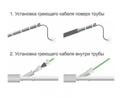 ERGERT SELF-REGULATING PIPEDEFENCE (ETSP-210) - греющий кабель для труб